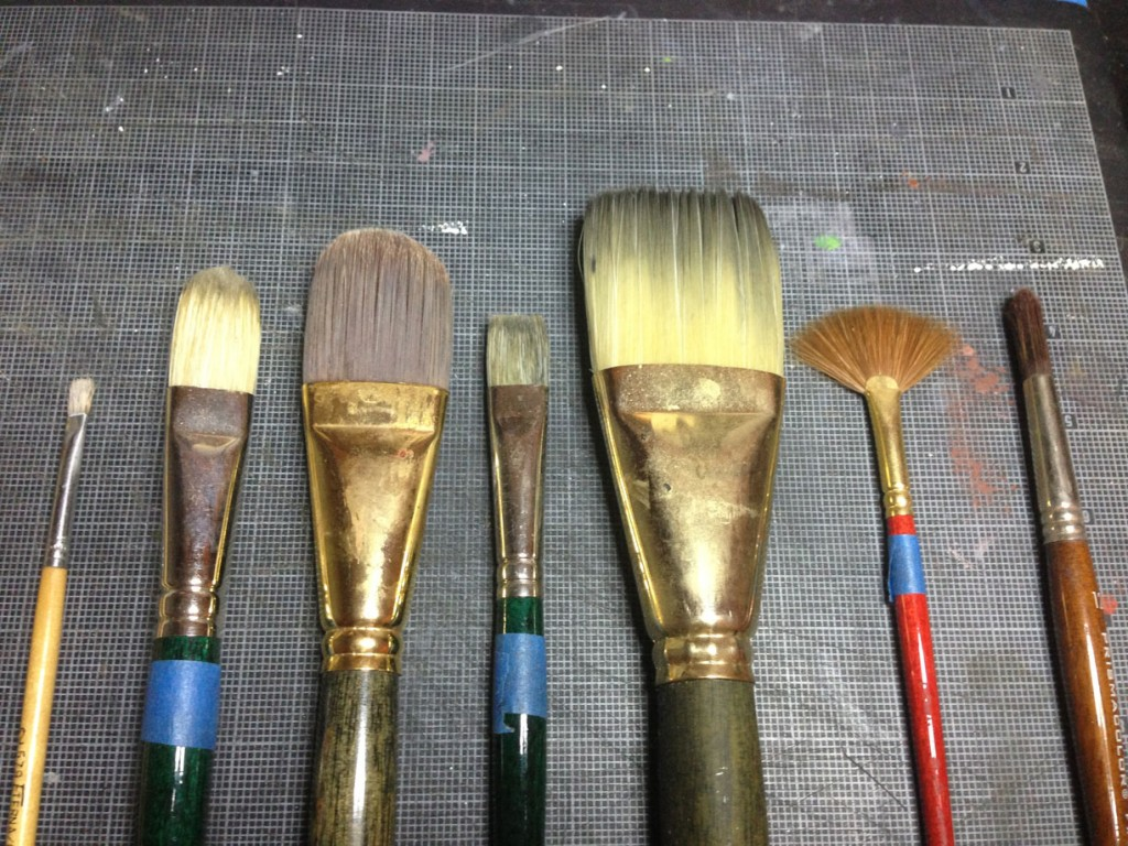 Austin Art Classes Brushes 1024x768 Oil Portraiture Supply List